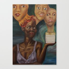 Extra Strength Skin Bleaching Formulation Canvas Print