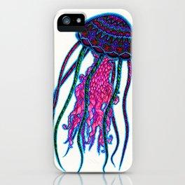 Mr JellyFish iPhone Case