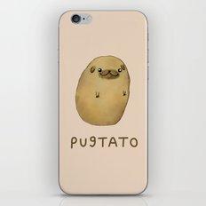 Pugtato iPhone & iPod Skin