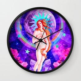 Psychedelic Venus Wall Clock
