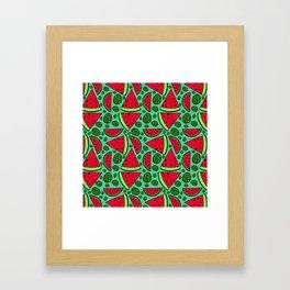 Quartermelon Framed Art Print