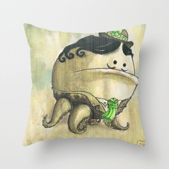 SignorFlower Throw Pillow