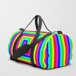 Insane Stripes Remix Color Duffle Bag