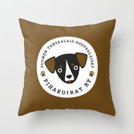 Pihakoirat Throw Pillow