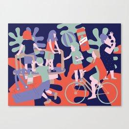 summering Canvas Print