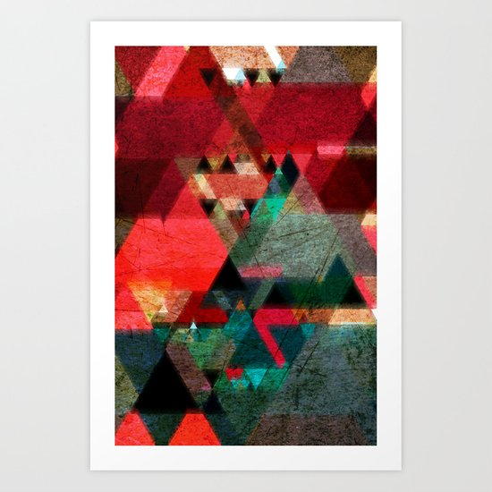 Abstract 09 Art Print