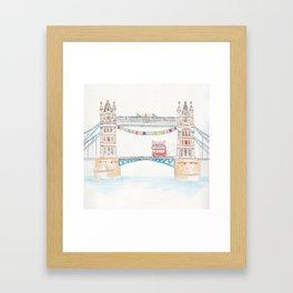 London's Tower Bridge Framed Art Print