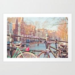 Sleutelbrug Art Print
