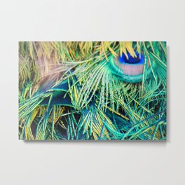 Kelly Green Metal Print