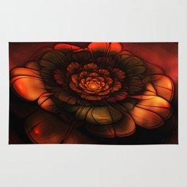 Neon Flower Rug