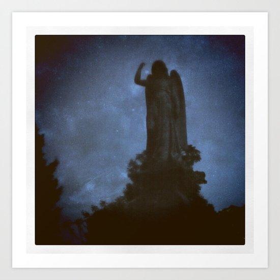 Forest Hills Cemetery Art Print