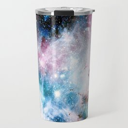 Carina Nebula : Colorful Galaxy Travel Mug