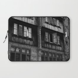 Windows in an Old Bar Laptop Sleeve