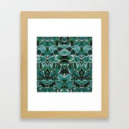 50 Shades of Green (8) Framed Art Print