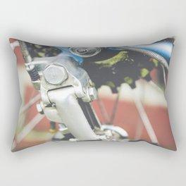 Close of up bike gears Rectangular Pillow