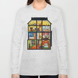 Vintage Doll House Long Sleeve T-shirt