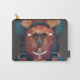 Monkey Tribal Carry-All Pouch