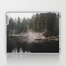 In the Fog - Landscape Photography Laptop & iPad Skin
