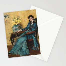 William Merritt Chase - Portrait of Dora Wheeler Stationery Cards