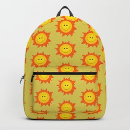 Smiling Happy Sun Backpack