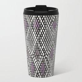 Grey and Purple Python Travel Mug