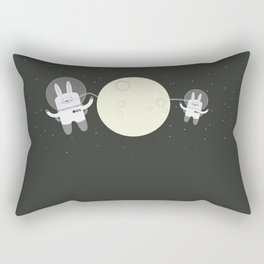 Astro Bunnies Rectangular Pillow