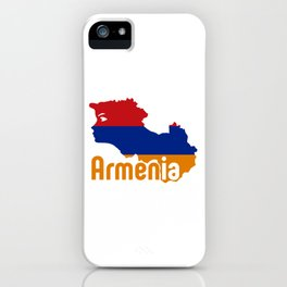 Armenia - Hayastan #society6 #decor #buyart #artprint iPhone Case