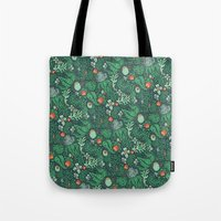 plants Tote Bags featuring plants by Jordan Walsh