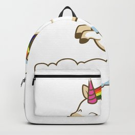 No dairy please Lactose Intolerant Person Gift Backpack