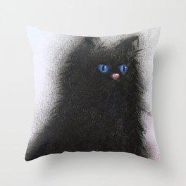 Smudge Cat 1 Throw Pillow