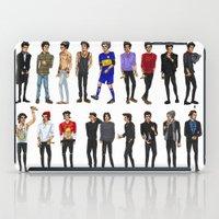 zayn malik iPad Cases featuring 22 Zayn Malik by justsomestuff