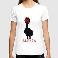 alpaca T-shirts featuring ALPACA by FUNCIT