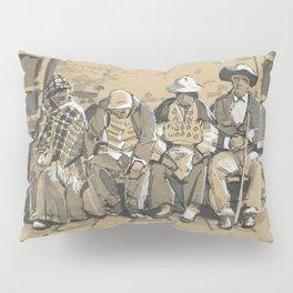 Elderly People in La Paz, Bolivia Pillow Sham