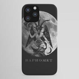 Baphomet Moon iPhone Case