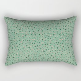 Succulents Flowers Rectangular Pillow