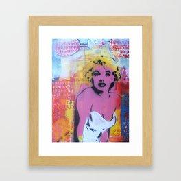 City Talk Framed Art Print