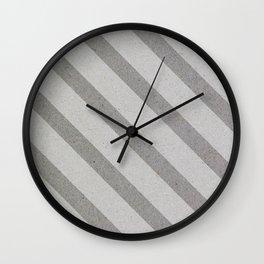 Varnish Pattern(stripe) Wall Clock