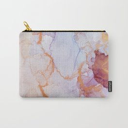 Pink luxury marble Carry-All Pouch