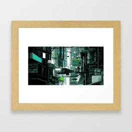 cybercore Framed Art Print