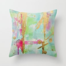 Minted Illusions Throw Pillow