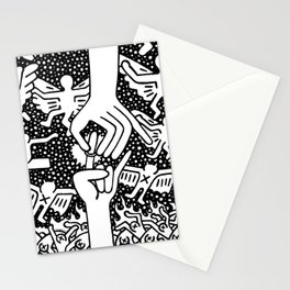 Keith Haring - The marriage of heaven and hell Stationery Cards