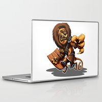 thundercats Laptop & iPad Skins featuring Lion-O Ultimate by Alexander Santos