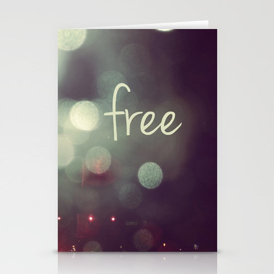 free II Stationery Cards