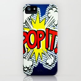 So Pop ! iPhone Case