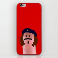 che iPhone & iPod Skins featuring che by Panic Junkie