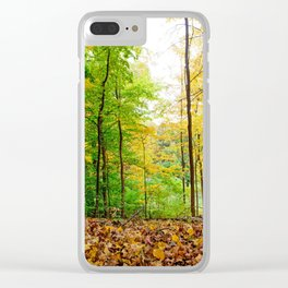 Mid Autumn Clear iPhone Case