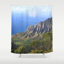 Kalalau Valley Shower Curtain