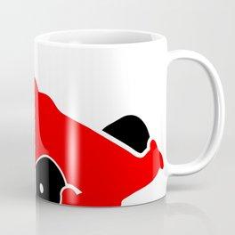 Fast Red Supercar Icon Coffee Mug