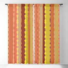 Multi-faceted decorative lines 11 Blackout Curtain