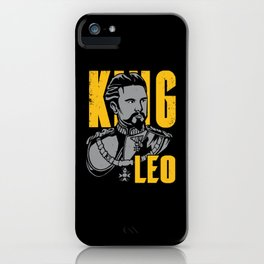 King Leo iPhone Case